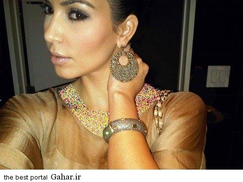 kimkardashianbraclate05 کلکسیون دستبندهای کیم کارداشیان در مراسم مختلف