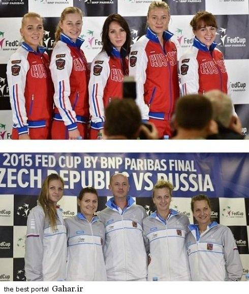 maria sharapova and teammate عکس جدید ماریا شاراپووا در کنار هم تیمی هایش