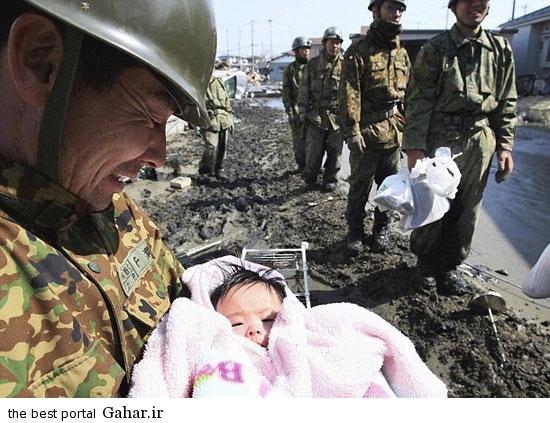nejat koodak 2 عکس / نجات معجزه آسای کودک 4 ماهه از زیر آوار پس از 3 روز