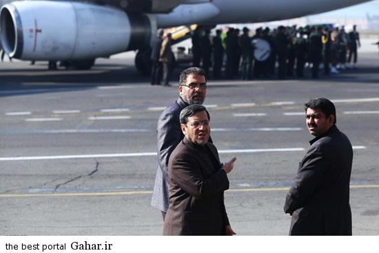 roknabadi esteghbal 5 عکسهای ورود پیکر رکن آبادی به کشور در فرودگاه مهرآباد