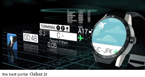saat1 رونمایی از اولین ساعت هوشمند اندرویدی/عکس