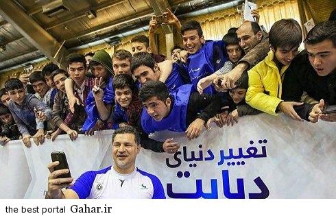 salafi ali daei with fans1 عکس های سلفی علی دایی با طرفدارانش