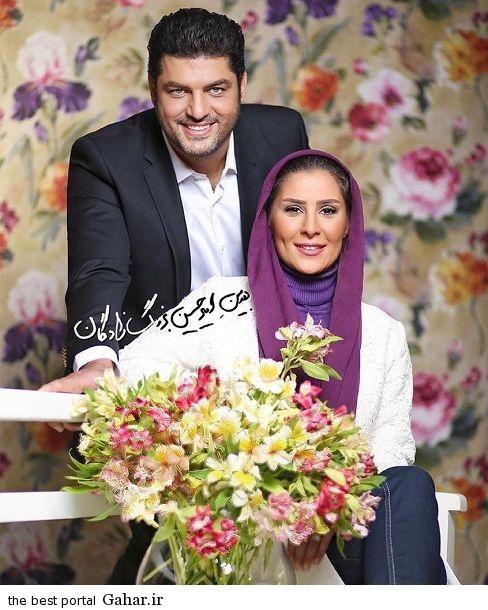 sam.derakhshani عکس سام درخشانی و همسرش در مجله ایده ال