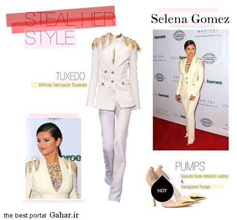 selenagomez01 جدیدترین مدل کت و شلوار به سبک سلنا گومز