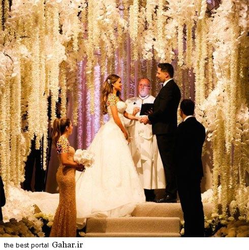 sofiavetrgaraweddinddress0 عکس های جدید سوفیا ورگارا در لباس عروس رویایی اش