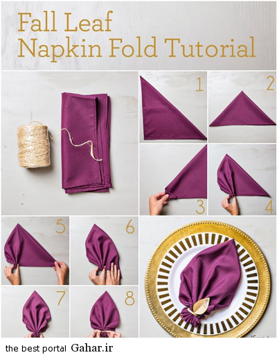 sofreh11 ساخت انواع دستمال سفره +آموزش تصویری