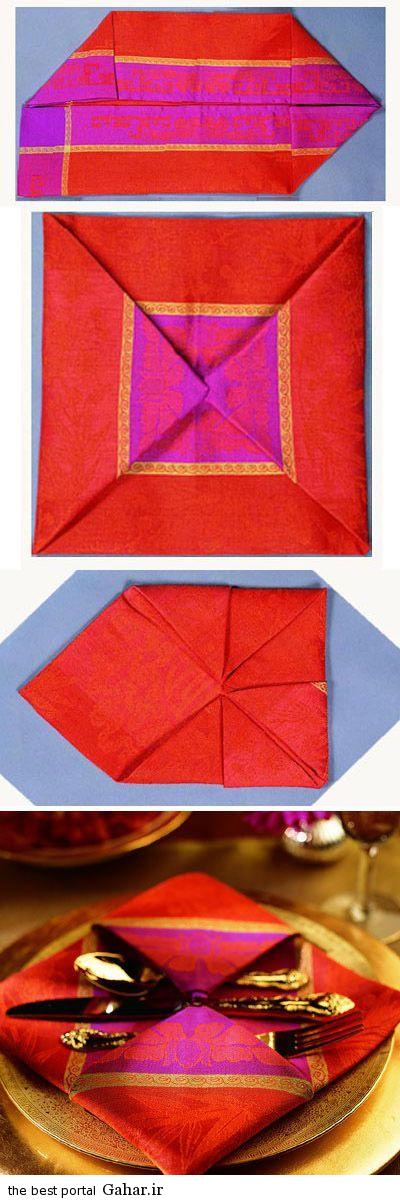 sofreh14 ساخت انواع دستمال سفره +آموزش تصویری