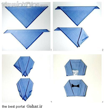 sofreh16 ساخت انواع دستمال سفره +آموزش تصویری