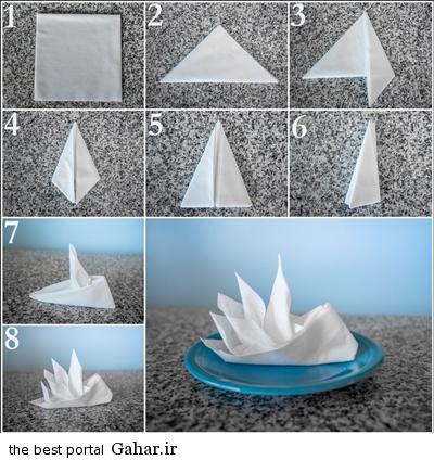 sofreh5 ساخت انواع دستمال سفره +آموزش تصویری