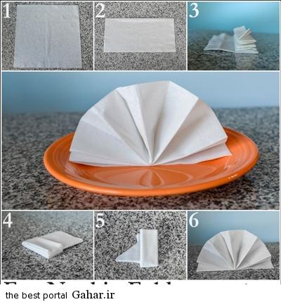 sofreh6 ساخت انواع دستمال سفره +آموزش تصویری