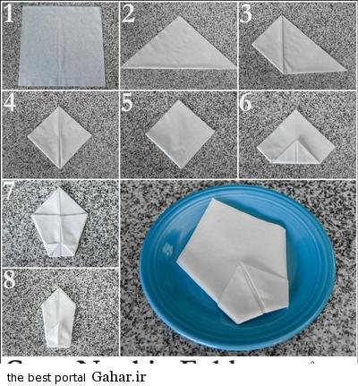 sofreh7 ساخت انواع دستمال سفره +آموزش تصویری