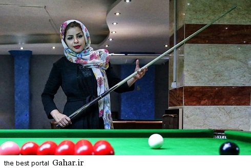 spectacular images of the girl genius billiards iran1 copy اکرم محمدی امینی نابغه بیلیارد و اسنوکر /عکس
