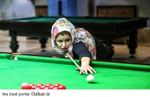 spectacular images of the girl genius billiards iran2 copy اکرم محمدی امینی نابغه بیلیارد و اسنوکر /عکس