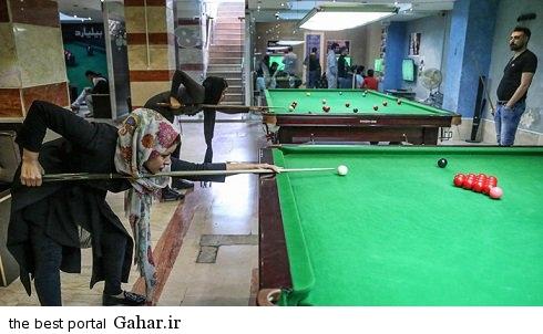 spectacular images of the girl genius billiards iran3 copy اکرم محمدی امینی نابغه بیلیارد و اسنوکر /عکس