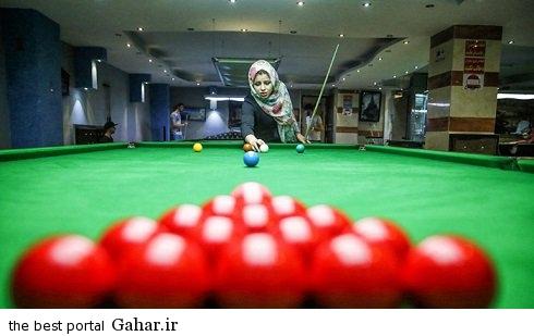 spectacular images of the girl genius billiards iran4 اکرم محمدی امینی نابغه بیلیارد و اسنوکر /عکس