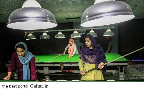 spectacular images of the girl genius billiards iran7 اکرم محمدی امینی نابغه بیلیارد و اسنوکر /عکس