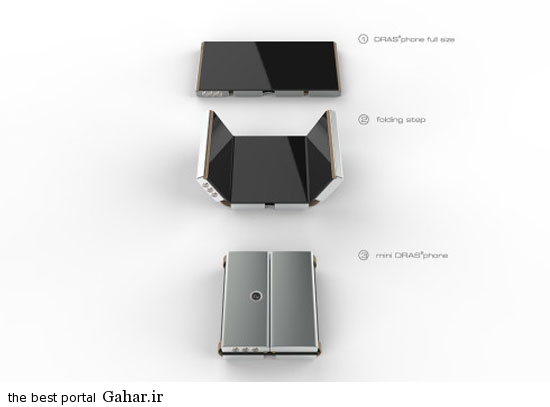 tasho2 رونمایی از گوشی هوشمند تاشو + عکس و مشخصات