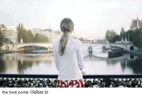 taylorswift1 عکس جدید تیلور سویفت بر روی پل عشاق در پاریس