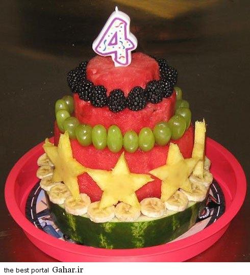watermeloncake 10 آموزش تصویری کیک هندوانه ویژه شب یلدای 94