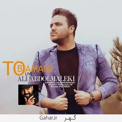 Ali Abdolmaleki دانلود آهنگ تو با منی از علی عبدالمالکی