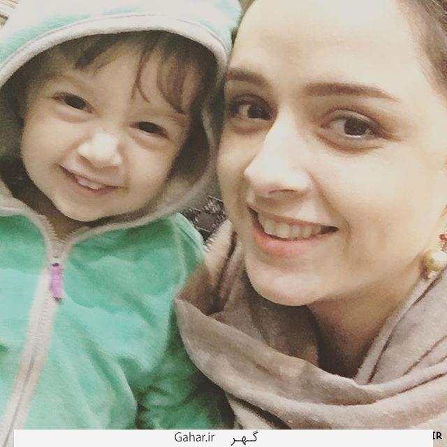 Taraneh Alidoosti Hana  دختر ترانه علیدوستی خطاب به مادرش: تو بی من کجایی؟!/عکس