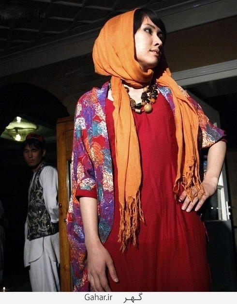 afghan fashion show 1 عکس دختران افغان در فشن شو