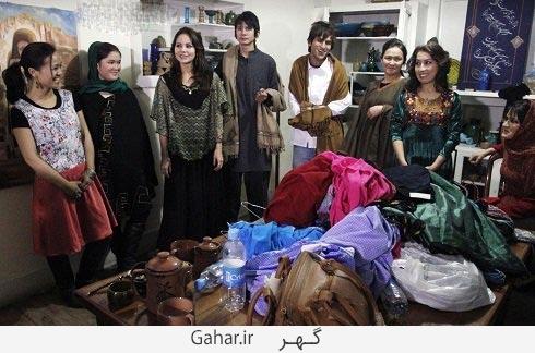 afghan fashion show 2 عکس دختران افغان در فشن شو