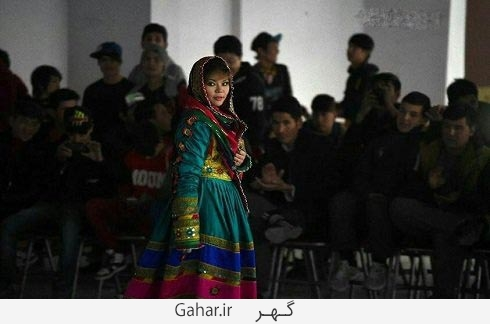 afghan fashion show 5 عکس دختران افغان در فشن شو