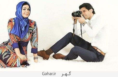 an old picture of ali talib and his wife lu عکس متفاوت و دیدنی وحید طالب لو و همسرش