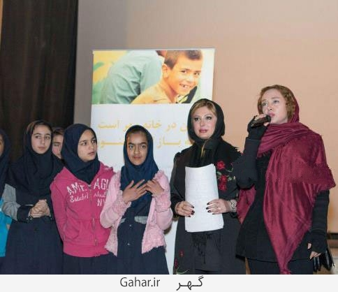 bazigaran10 عکس های بازیگران در کنار کودکان کار