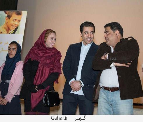 bazigaran5 عکس های بازیگران در کنار کودکان کار