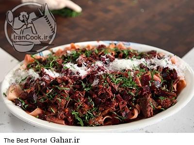 beef طرز تهیه گوشت و لبو غذای لذیذ پاییزی