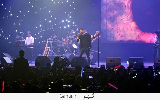 benyamin1 گزارش تصويری از کنسرت بنیامین با حضور محمدرضا گلزار
