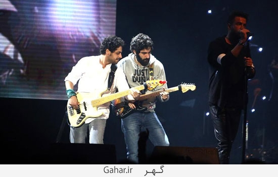 benyamin15 گزارش تصويری از کنسرت بنیامین با حضور محمدرضا گلزار