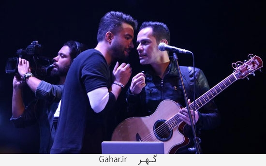 benyamin17 گزارش تصويری از کنسرت بنیامین با حضور محمدرضا گلزار