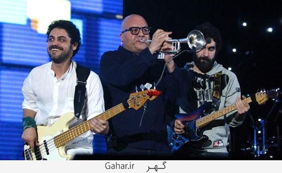 benyamin35 گزارش تصويری از کنسرت بنیامین با حضور محمدرضا گلزار