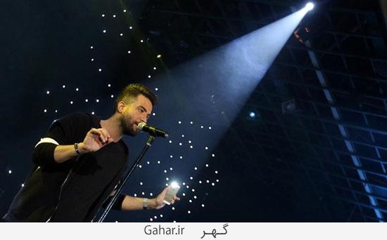 benyamin37 گزارش تصويری از کنسرت بنیامین با حضور محمدرضا گلزار