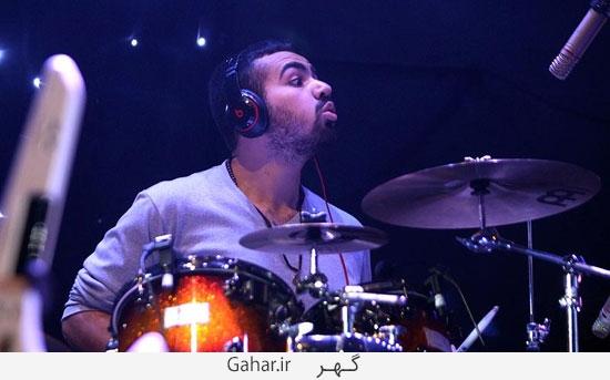 benyamin46 گزارش تصويری از کنسرت بنیامین با حضور محمدرضا گلزار