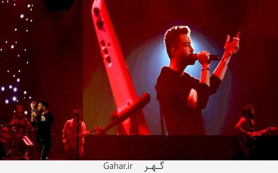 benyamin5 گزارش تصويری از کنسرت بنیامین با حضور محمدرضا گلزار