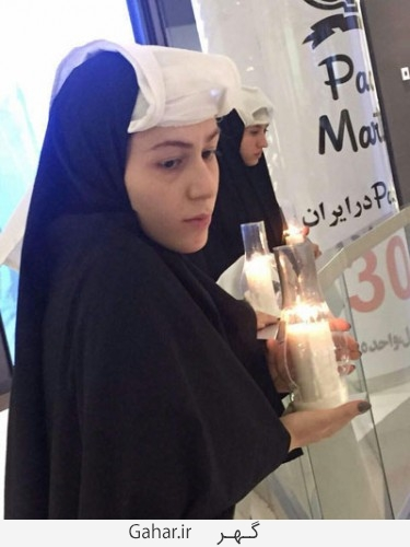 dokhtaran poshie 6 375x500 عکس / دختران پوشیه پوش که فضای نوستالژیک به تهران دادند
