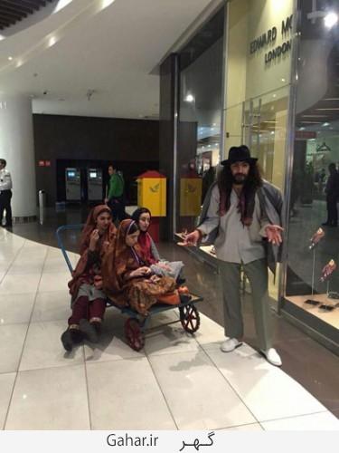 dokhtaran poshie 7 375x500 عکس / دختران پوشیه پوش که فضای نوستالژیک به تهران دادند