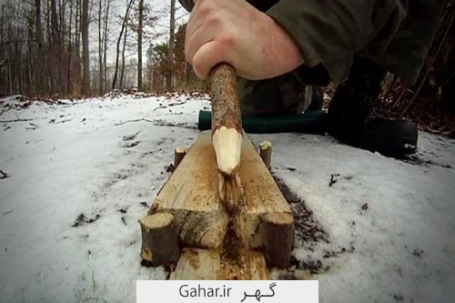 dorost kardan kebrit 3 500x333 روشهایی برای درست کردن آتش بدون کبریت در مواقع ضروری