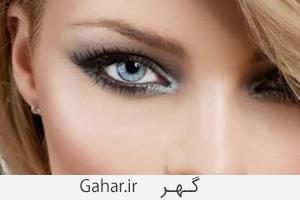 eye shadow2 آموزش مدل های مختلف ریمل زدن بر اساس فرم چشم