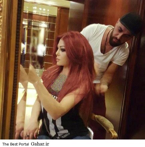 haifawehbe   copy جدیدترین عکس های هیفا وهبی با رنگ مو جدید