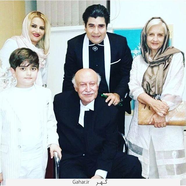 harir shariatzadeh 4 بیوگرافی حریر شریعت زاده همسر سالار عقیلی + عکس