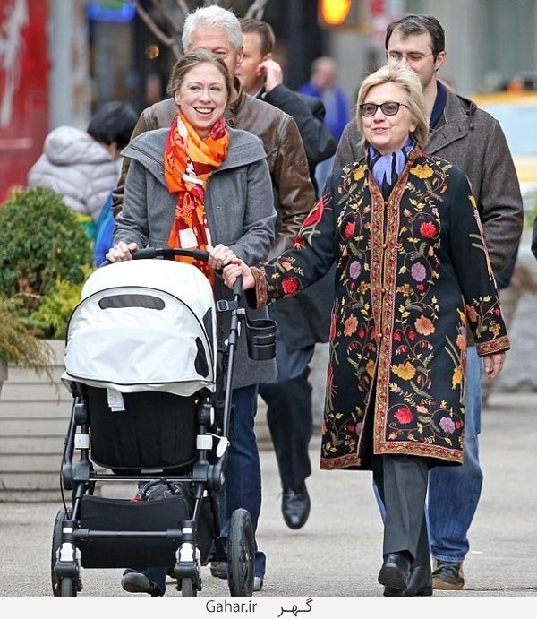 hilary kelinton 1 تیپ جالب هیلاری کلینتون و دخترش / عکس