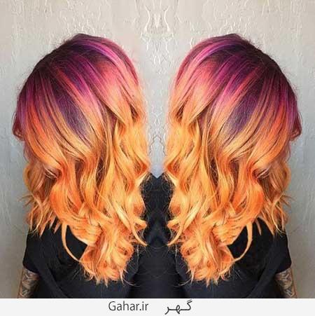 hilight hair 2016 2 جدیدترین مدل های هایلایت زمستانی