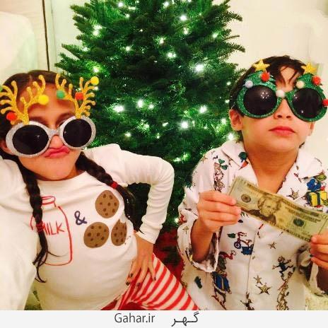 jennifer.lopez1 copy عکس های جنیفر لوپز و دوقلوهایش در کنار درخت کریسمس