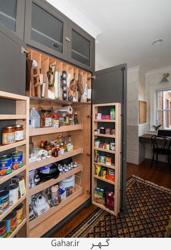 kitchen 7 چیدمان لوازم آشپزخانه در آشپزخانه های کوچک