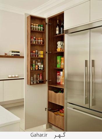kitchen 8 چیدمان لوازم آشپزخانه در آشپزخانه های کوچک